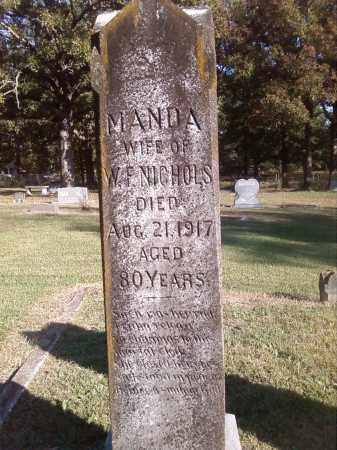 NICHOLS, AMANDA - Pulaski County, Arkansas | AMANDA NICHOLS - Arkansas Gravestone Photos