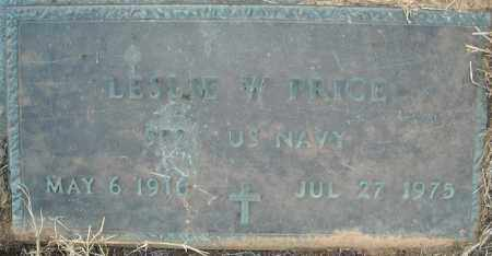 PRICE  (VETERAN), LESLIE W - Pulaski County, Arkansas | LESLIE W PRICE  (VETERAN) - Arkansas Gravestone Photos