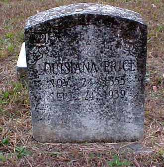 PRICE, LOUISIANA - Pulaski County, Arkansas | LOUISIANA PRICE - Arkansas Gravestone Photos