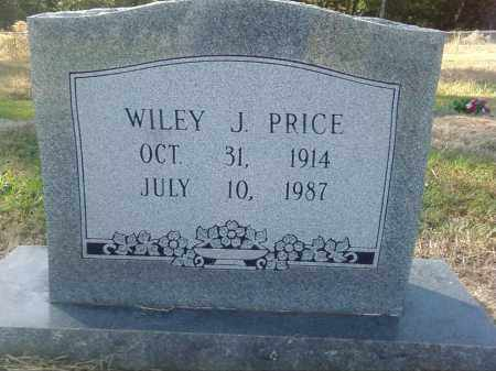 PRICE, WILEY J. - Pulaski County, Arkansas | WILEY J. PRICE - Arkansas Gravestone Photos