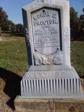 PROCTOR, MONDA - Pulaski County, Arkansas | MONDA PROCTOR - Arkansas Gravestone Photos