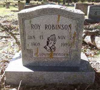 ROBINSON, ROY - Pulaski County, Arkansas | ROY ROBINSON - Arkansas Gravestone Photos