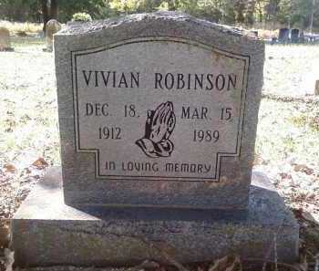 ROBINSON, VIVIAN - Pulaski County, Arkansas | VIVIAN ROBINSON - Arkansas Gravestone Photos