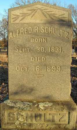 SCHULTZ, ALFRED R. - Pulaski County, Arkansas | ALFRED R. SCHULTZ - Arkansas Gravestone Photos