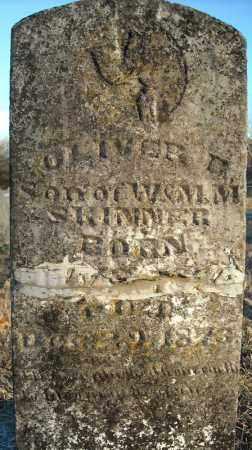 SKINNER, OLIVER D. - Pulaski County, Arkansas | OLIVER D. SKINNER - Arkansas Gravestone Photos