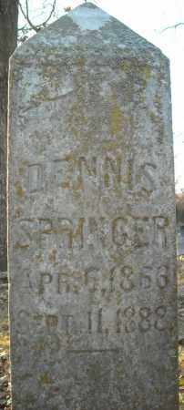 SPRINGER, DENNIS - Pulaski County, Arkansas | DENNIS SPRINGER - Arkansas Gravestone Photos