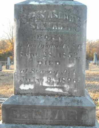 STEWART, SILAS ASBURY - Pulaski County, Arkansas | SILAS ASBURY STEWART - Arkansas Gravestone Photos
