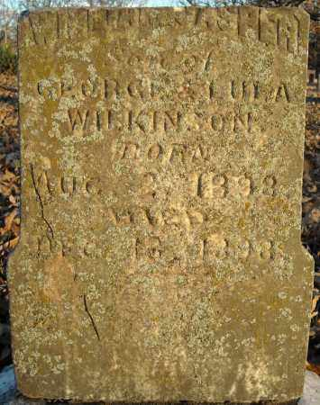 WILKINSON, WILLIAM JASPER - Pulaski County, Arkansas | WILLIAM JASPER WILKINSON - Arkansas Gravestone Photos