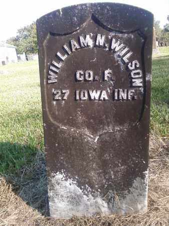 WILSON  (VETERAN UNION), WILLIAM N - Pulaski County, Arkansas | WILLIAM N WILSON  (VETERAN UNION) - Arkansas Gravestone Photos