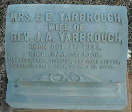 YARBROUGH, MRS., R.E. - Pulaski County, Arkansas | R.E. YARBROUGH, MRS. - Arkansas Gravestone Photos