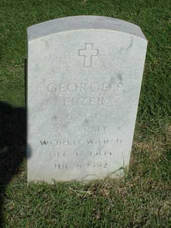 ELZER (VETERAN WWII), GEORGE P - Pulaski County, Arkansas | GEORGE P ELZER (VETERAN WWII) - Arkansas Gravestone Photos
