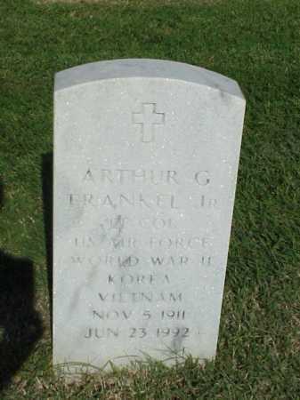 FRANKEL, JR (VETERAN 3 WARS), ARTHUR G - Pulaski County, Arkansas | ARTHUR G FRANKEL, JR (VETERAN 3 WARS) - Arkansas Gravestone Photos