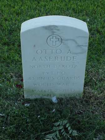 AASERUDE (VETERAN WWI), OTTO A - Pulaski County, Arkansas | OTTO A AASERUDE (VETERAN WWI) - Arkansas Gravestone Photos