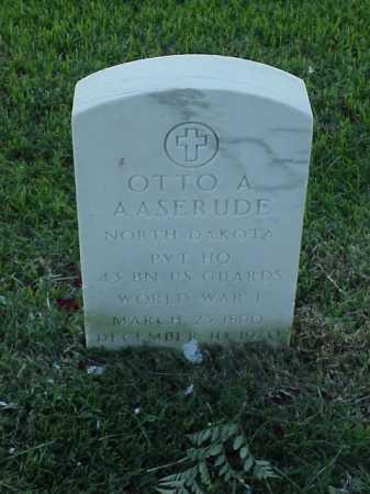 AASERUDE (VETERAN WWI), OTTO A - Pulaski County, Arkansas | OTTO A AASERUDE (VETERAN WWI) - Arkansas Gravestone Photos