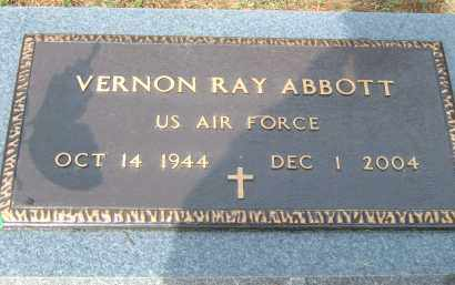 ABBOTT (VETERAN), VERNON RAY - Pulaski County, Arkansas | VERNON RAY ABBOTT (VETERAN) - Arkansas Gravestone Photos
