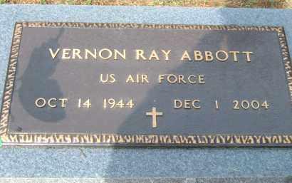 ABBOTT (VETERAN), VERNON RAY - Pulaski County, Arkansas | VERNON RAY ABBOTT (VETERAN) - Arkansas Gravestone Photos