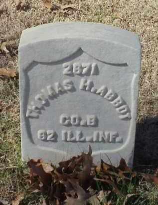ABBOTT (VETERAN UNION), THOMAS H - Pulaski County, Arkansas | THOMAS H ABBOTT (VETERAN UNION) - Arkansas Gravestone Photos
