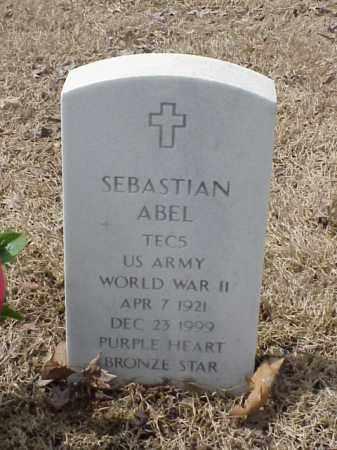 ABEL  (VETERAN WWII), SEBASTIAN - Pulaski County, Arkansas | SEBASTIAN ABEL  (VETERAN WWII) - Arkansas Gravestone Photos