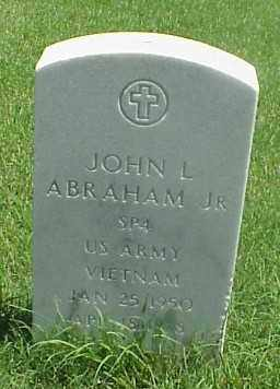ABRAHAM, JR (VETERAN VIET), JOHN L - Pulaski County, Arkansas | JOHN L ABRAHAM, JR (VETERAN VIET) - Arkansas Gravestone Photos