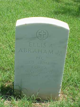 ABRAHAM, JR (VETERAN KOR), ELLIS A - Pulaski County, Arkansas | ELLIS A ABRAHAM, JR (VETERAN KOR) - Arkansas Gravestone Photos