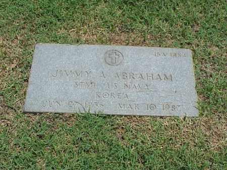 ABRAHAM (VETERAN KOR), JIMMY A - Pulaski County, Arkansas   JIMMY A ABRAHAM (VETERAN KOR) - Arkansas Gravestone Photos