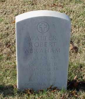 ABRAHAM (VETERAN VIET), WALTER ROBERT - Pulaski County, Arkansas | WALTER ROBERT ABRAHAM (VETERAN VIET) - Arkansas Gravestone Photos
