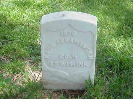 ABRAHAMSEN (VETERAN UNION), KNUD - Pulaski County, Arkansas | KNUD ABRAHAMSEN (VETERAN UNION) - Arkansas Gravestone Photos