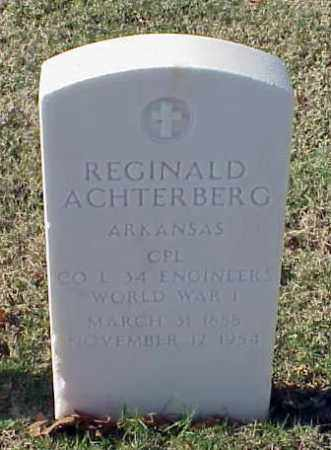 ACHTERBERG (VETERAN WWI), REGINALD - Pulaski County, Arkansas | REGINALD ACHTERBERG (VETERAN WWI) - Arkansas Gravestone Photos