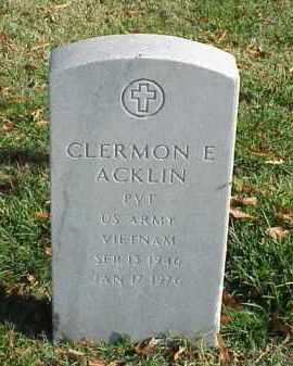 ACKLIN (VETERAN VIET), CLERMON E - Pulaski County, Arkansas | CLERMON E ACKLIN (VETERAN VIET) - Arkansas Gravestone Photos