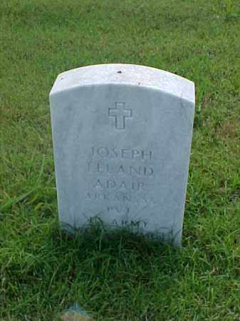 ADAIR (VETERAN), JOSEPH LELAND - Pulaski County, Arkansas | JOSEPH LELAND ADAIR (VETERAN) - Arkansas Gravestone Photos