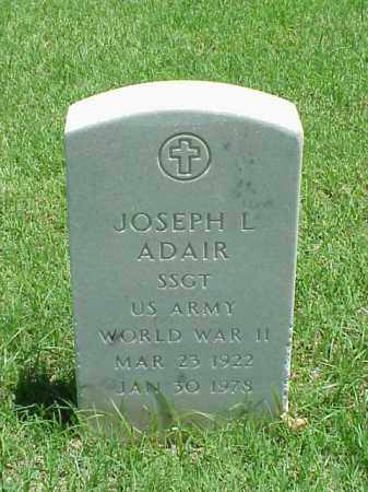 ADAIR (VETERAN WWII), JOSEPH L - Pulaski County, Arkansas | JOSEPH L ADAIR (VETERAN WWII) - Arkansas Gravestone Photos