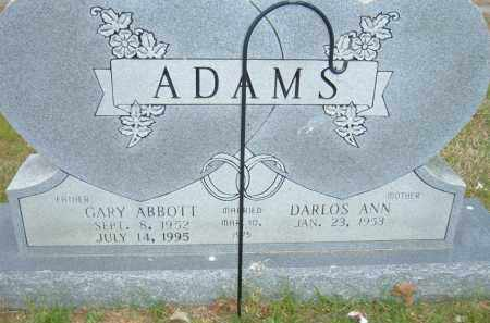 ADAMS, GARY ABBOTT - Pulaski County, Arkansas | GARY ABBOTT ADAMS - Arkansas Gravestone Photos