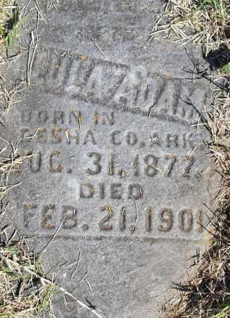 ADAMS, LULA - Pulaski County, Arkansas   LULA ADAMS - Arkansas Gravestone Photos