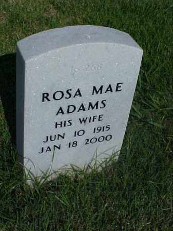 ADAMS, ROSA MAE - Pulaski County, Arkansas | ROSA MAE ADAMS - Arkansas Gravestone Photos