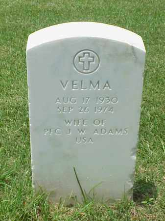 ADAMS, VELMA - Pulaski County, Arkansas | VELMA ADAMS - Arkansas Gravestone Photos