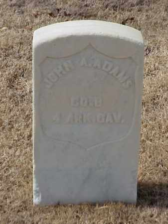 ADAMS (VETERAN UNION), JOHN A - Pulaski County, Arkansas | JOHN A ADAMS (VETERAN UNION) - Arkansas Gravestone Photos