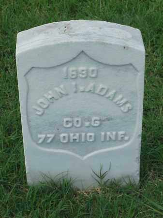 ADAMS (VETERAN UNION), JOHN I - Pulaski County, Arkansas | JOHN I ADAMS (VETERAN UNION) - Arkansas Gravestone Photos
