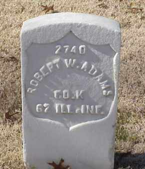 ADAMS (VETERAN UNION), ROBERT W - Pulaski County, Arkansas | ROBERT W ADAMS (VETERAN UNION) - Arkansas Gravestone Photos