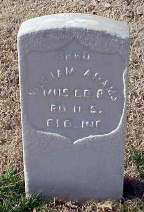 ADAMS (VETERAN UNION), WILLIAM - Pulaski County, Arkansas | WILLIAM ADAMS (VETERAN UNION) - Arkansas Gravestone Photos