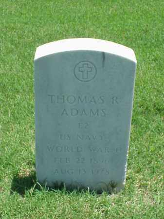 ADAMS (VETERAN WWI), THOMAS R - Pulaski County, Arkansas | THOMAS R ADAMS (VETERAN WWI) - Arkansas Gravestone Photos