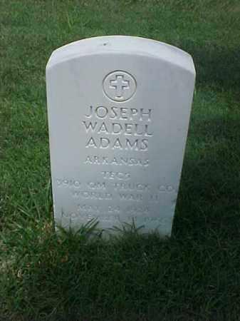ADAMS (VETERAN WWII), JOSEPH WADELL - Pulaski County, Arkansas | JOSEPH WADELL ADAMS (VETERAN WWII) - Arkansas Gravestone Photos