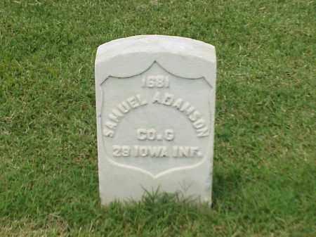 ADAMSON (VETERAN UNION), SAMUEL - Pulaski County, Arkansas   SAMUEL ADAMSON (VETERAN UNION) - Arkansas Gravestone Photos