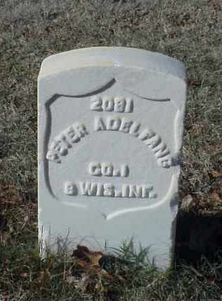 ADELFANG (VETERAN UNION), PETER - Pulaski County, Arkansas | PETER ADELFANG (VETERAN UNION) - Arkansas Gravestone Photos