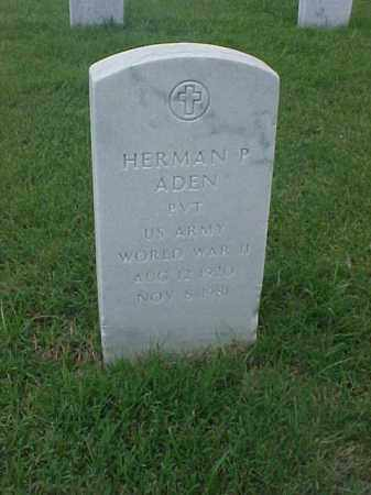 ADEN (VETERAN WWII), HERMAN P - Pulaski County, Arkansas | HERMAN P ADEN (VETERAN WWII) - Arkansas Gravestone Photos