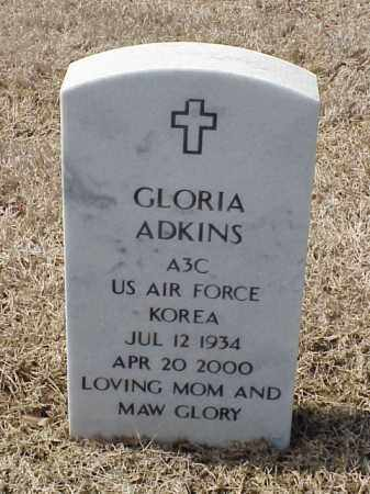 ADKINS  (VETERAN KOR), GLORIA - Pulaski County, Arkansas | GLORIA ADKINS  (VETERAN KOR) - Arkansas Gravestone Photos