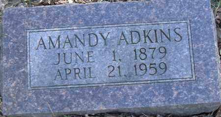 ADKINS, AMANDY - Pulaski County, Arkansas | AMANDY ADKINS - Arkansas Gravestone Photos