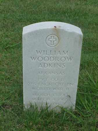 ADKINS (VETERAN WWII), WILLIAM WOODROW - Pulaski County, Arkansas | WILLIAM WOODROW ADKINS (VETERAN WWII) - Arkansas Gravestone Photos