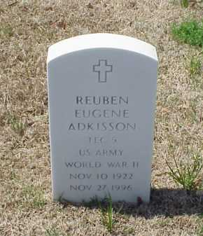 ADKISSON (VETERAN WWII), REUBEN EUGENE - Pulaski County, Arkansas | REUBEN EUGENE ADKISSON (VETERAN WWII) - Arkansas Gravestone Photos