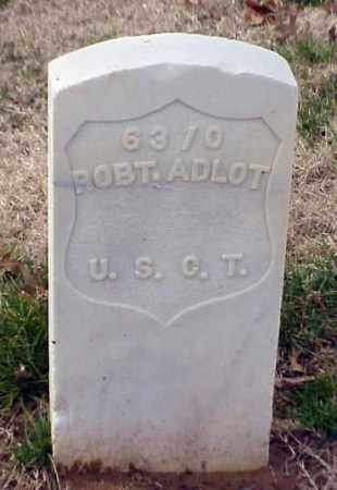 ADLOT (VETERAN UNION), ROBERT - Pulaski County, Arkansas | ROBERT ADLOT (VETERAN UNION) - Arkansas Gravestone Photos
