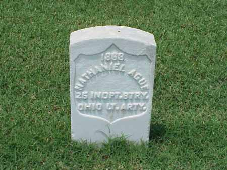 AGUE (VETERAN UNION), NATHANIEL - Pulaski County, Arkansas | NATHANIEL AGUE (VETERAN UNION) - Arkansas Gravestone Photos